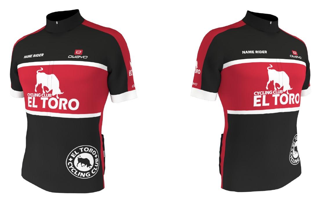 Photo of El Toro cycling club teamkleding (voorstel)