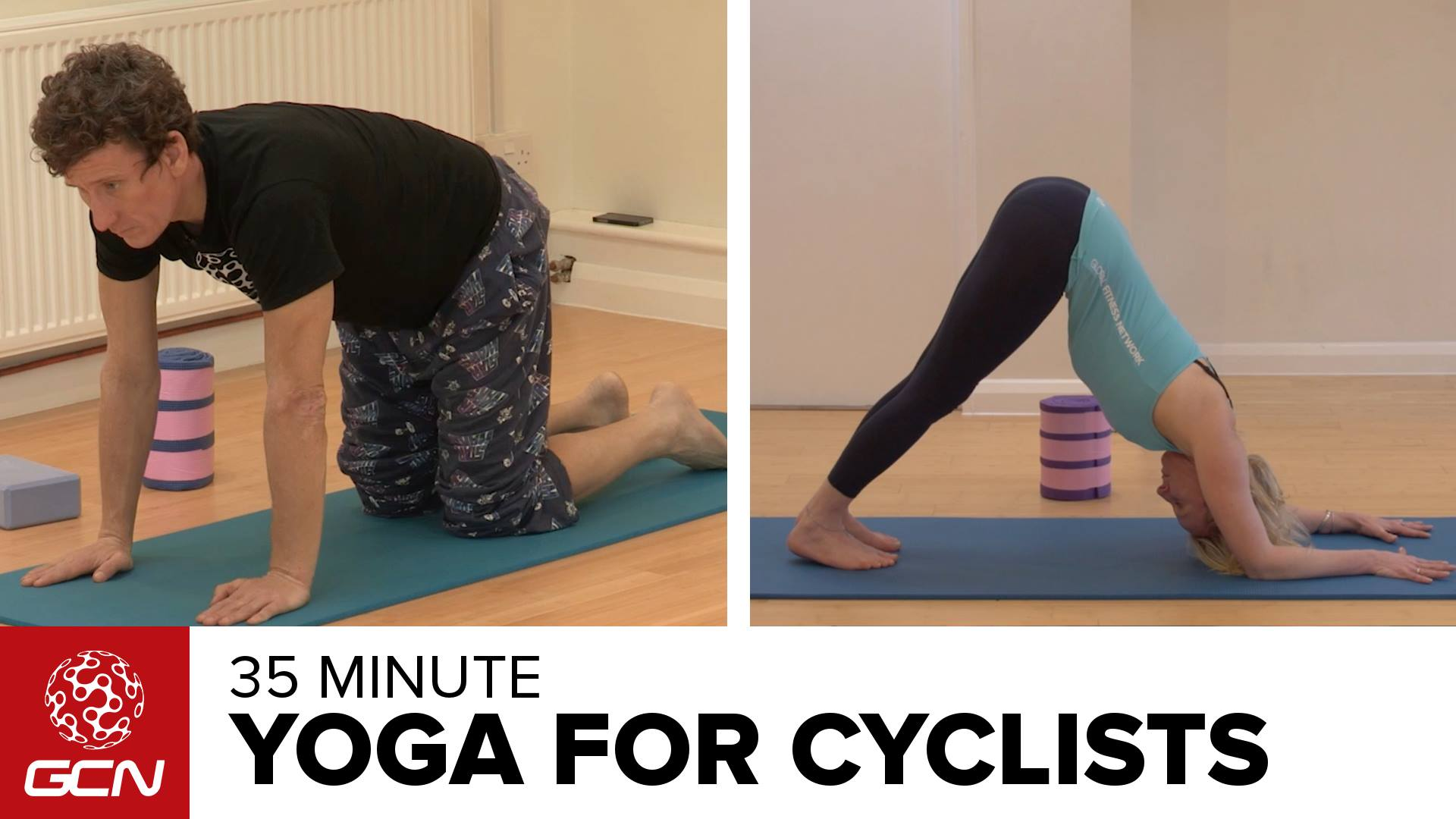 Photo of 35 Minute Yoga Workout For Cyclists