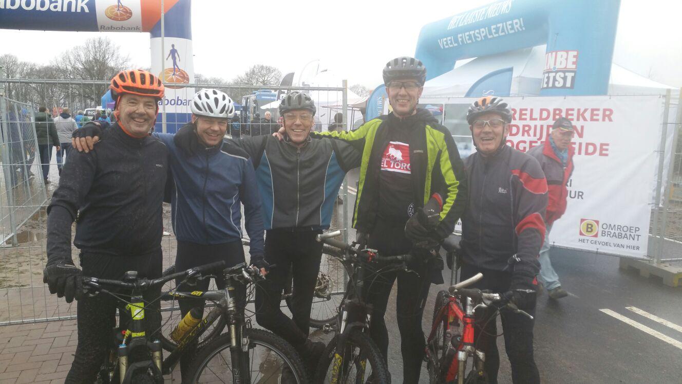 Photo of De ET TC nemen deel aan de Tourtocht  op 24 januari 2016 start in Hoogerheide !