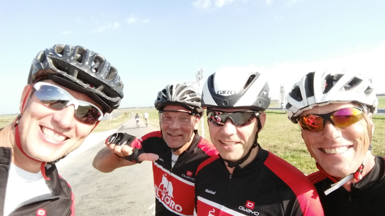 Photo of Zondag 25 September. Rider of the day, Edwin !