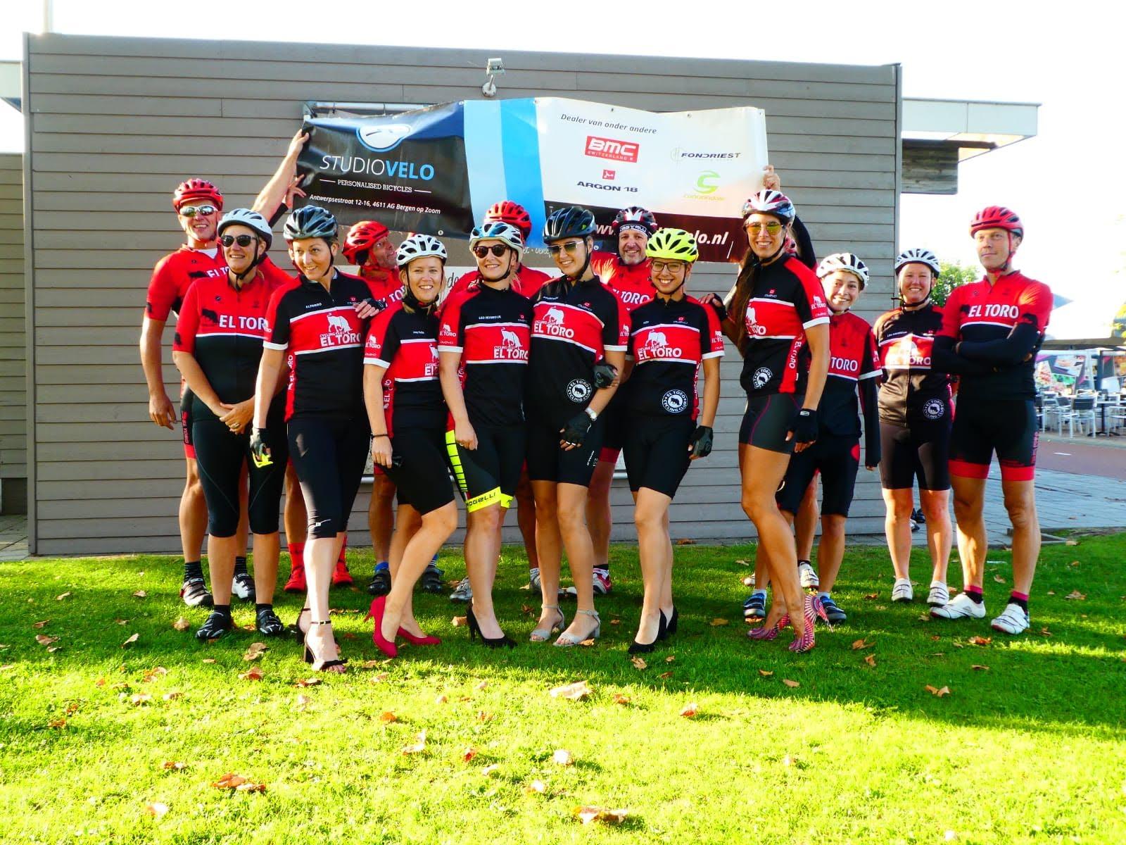 Photo of 2 September, de 1e EL TORO Ladies Ride !