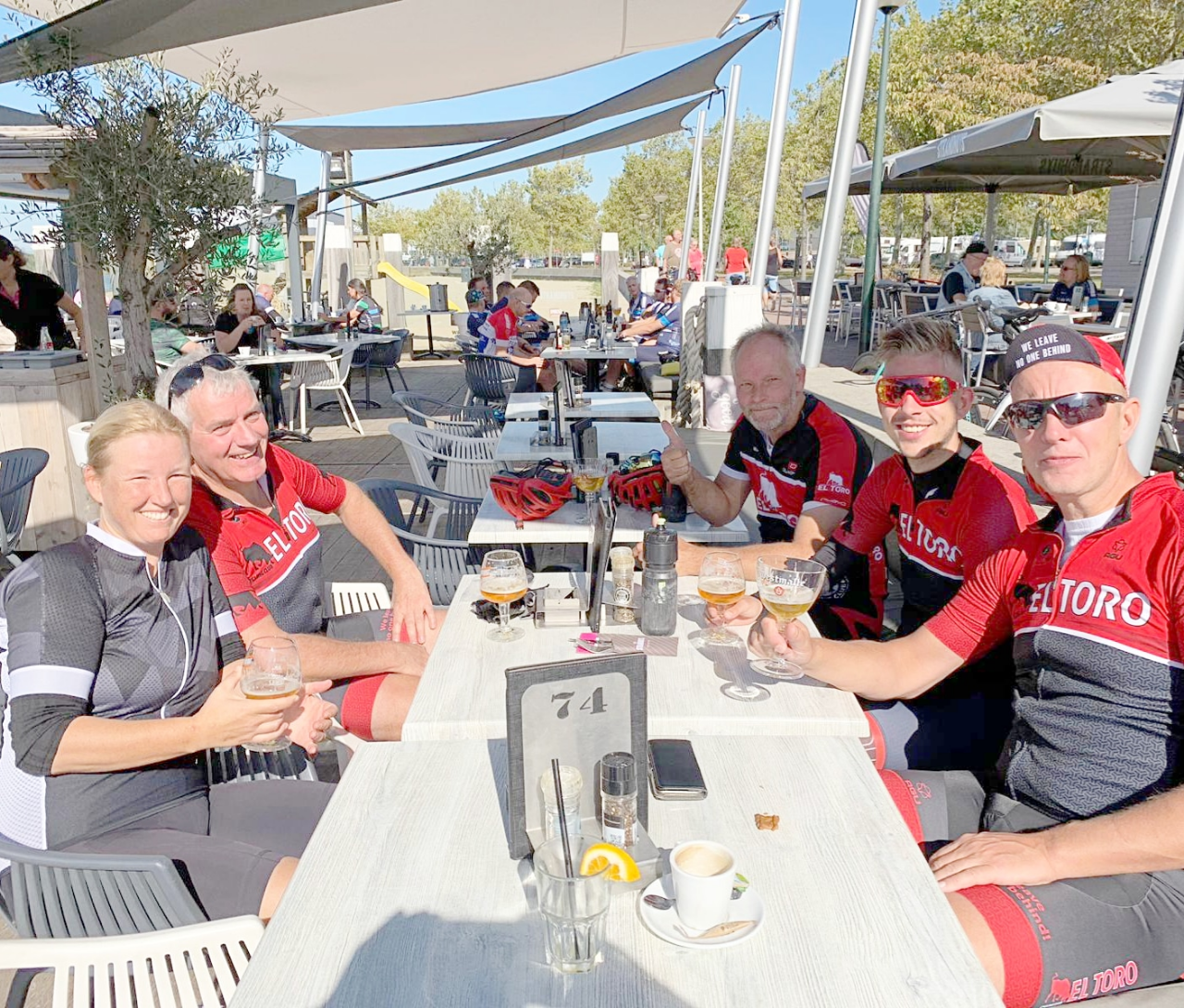 Photo of 22 september, De zondag na de fantastische LadiesRide 2019.
