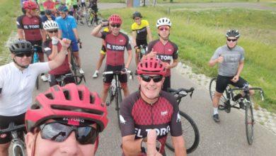 Photo of Leo's 120km  vaderdags ride.