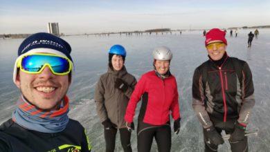 Photo of Zondag 14-02-21, Verliefd op het ijs!