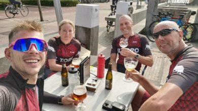 Photo of Zondag 19 September een fietsrit achter de derny's